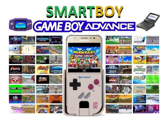 Smartboy Com Jogos. Transforma Seu Celular Em Um Gameboy