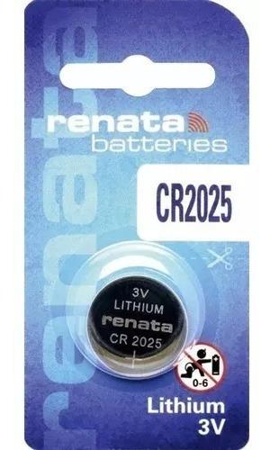 Bateria Cr2025 Lithium 3v - Renata - 1 Unidade