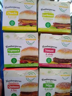 Hamburguesas Veganas, Combo De Hamburguesas Y Panchos