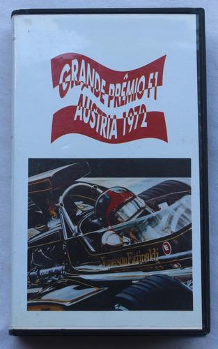 Imagem 1 de 1 de Fita Vhs Gp Da Áustria De 1972 - Original Com Legendas
