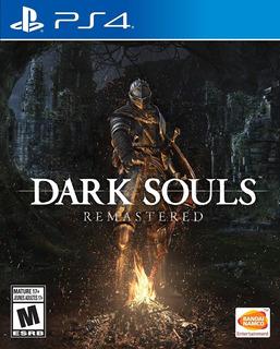 Dark Souls Remastered Ps4 Fisico Nuevo Sellado