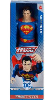 Muñeco Supermán Articulado 30 Cm Dc Liga De La Justicia