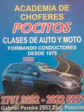 Curso De Auto Y Moto. Academia Chóferes Pocitos