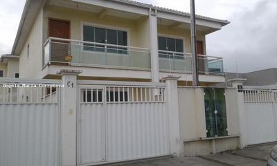 Casa Duplex Para Locação Em Rio Das Ostras, Village, 2 Dormitórios, 1 Suíte, 2 Banheiros, 1 Vaga - Amc2346