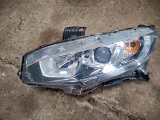 Farol Honda Civic 17 18 19 C/projetor Lado Esquerdo