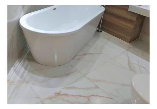 Imagen 1 de 6 de Porcelanato Pulido Cerro Negro Dubai 58,5x58,5 1ra Calidad