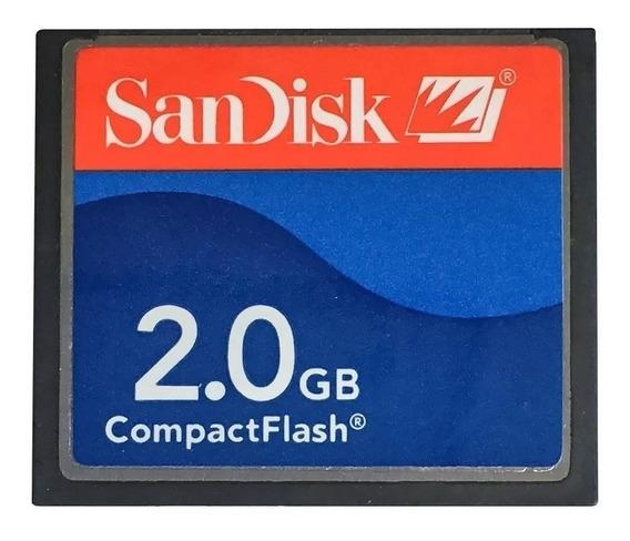 Cartão Compact Flash 2 Gb - Para Coletora Tds Recon + Caneta