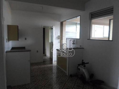 Apartamento Com 3 Dormitórios À Venda, 121 M² Por R$ 260.000,00 - Fonseca - Niterói/rj - Ap1535