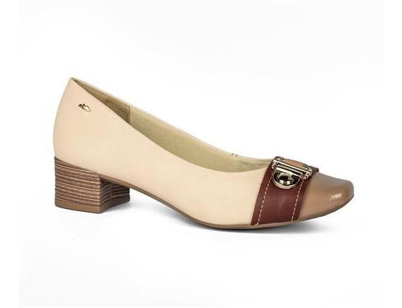 Sapato Dakota Salto Baixo Fivela G1084