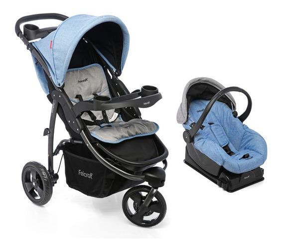 Cochecito Felcraft Travel System Simply+huevito- Bemar Babys