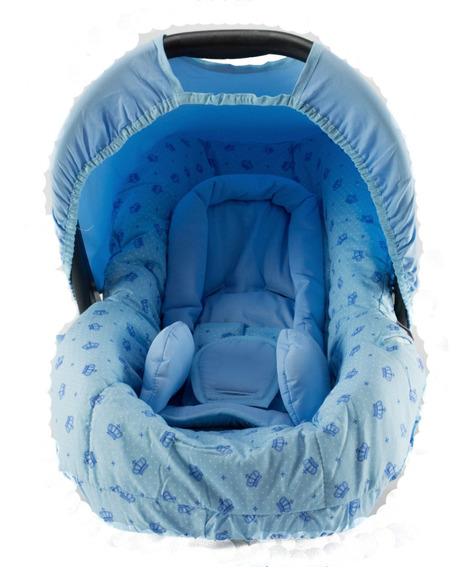 Capa P/ Bebê Conforto Com Acolchoado - Estampa Coroa