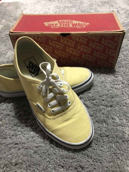 Vans Authentic Amarelo
