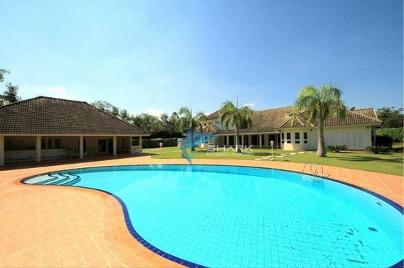 Casa Com 5 Dormitórios À Venda, 800 M² Por R$ 3.500.000,00 - Condomínio Fazenda Vila Real - Itu/sp - Ca0062