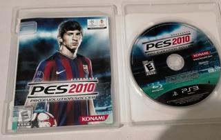 Pes (pro Evolution Soccer) 2010 Fisico En Español Para Ps3