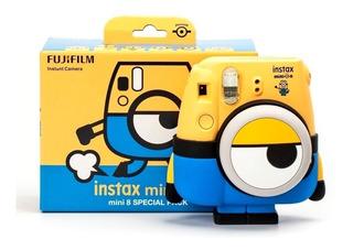 Cámara Instantánea Fujifilm Instax Mini 8 Minion Ml1374
