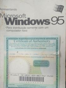 Licença Windows 95