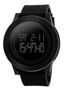 Reloj Hombre Skmei 1142 Cronómetro Alarma Luz Timer Molts