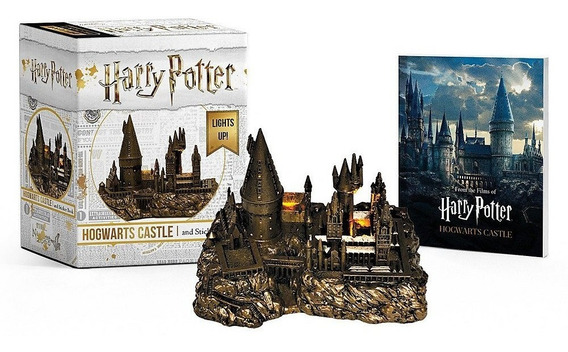 Kit Harry Potter Castelo De Hogwarts E Livro De Adesivos