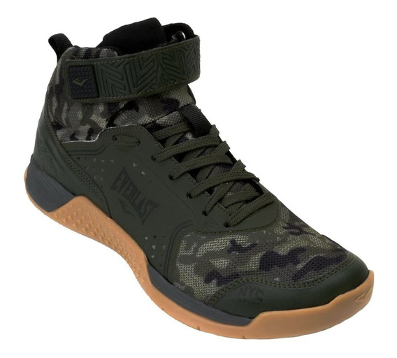 Tênis Everlast Monster Crossfit Training Lpo Verde Camuflado