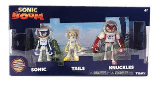 Sonic Boom Figuras Muñeco Pack X 3 Original