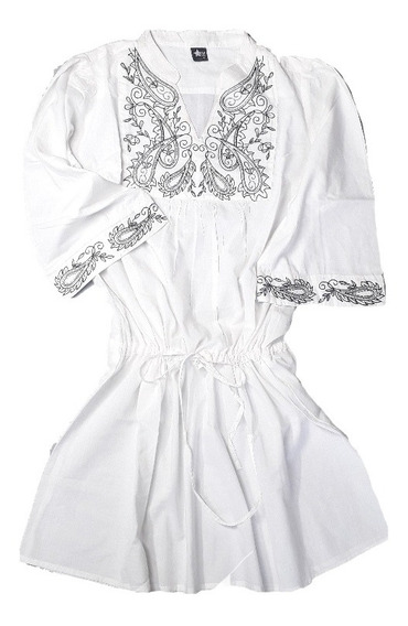 Tunica Vestido Mujer Bordada Estilo Hindu Moda Star T1231
