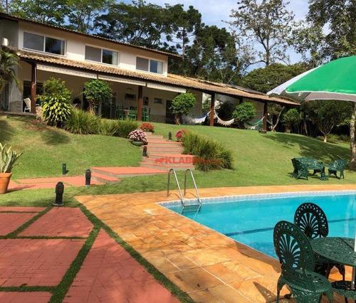 Chácara Com 6 Dormitórios À Venda, 8300 M² Por R$ 3.950.000,00 - Mata Fria - Mairiporã/sp - Ch0008