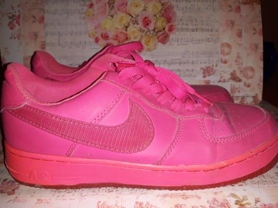 Zapatilla Nike Air Force Rosa Fucsia