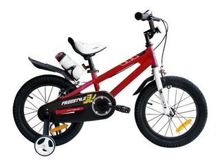 Bicicleta Infantil Colores Royal Baby Freestyle Rodado 14