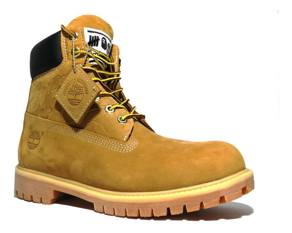Botas Timberland A Bathing Ape X Undefeated X 6 Inch