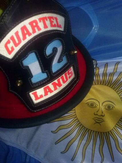 Bomberos Chapeton - Cucarda Para Casco Americano
