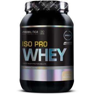 Iso Pro Whey 900 Gramas - Probiotica Sabor:baunilha