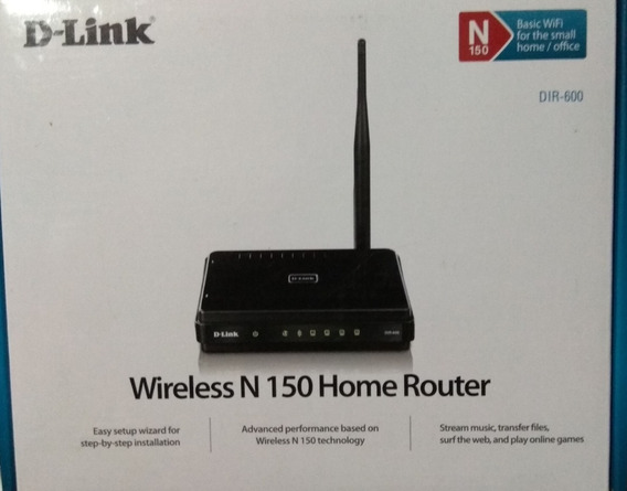 Router D-link Wi-fi 150 Mbps