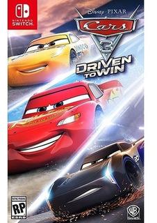 ..:: Cars 3 Driven To Win Para Nintendo Switch ::.. En Gamec
