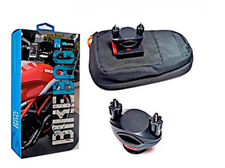 Soporte Celular Para Moto Bikebag Igoma De Lujo Impermeable