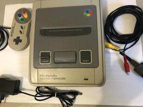 Super Famicom Excelente Com 3 Jogos - V302