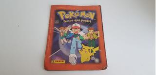 Álbum Pokémon Temos Que Pegar - Incompleto E Sem Poster