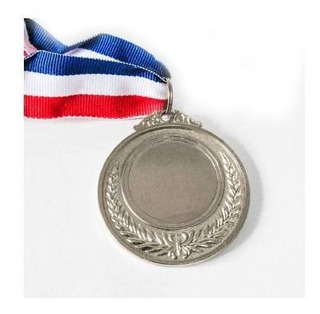 Medalla Deportiva Metálica C/cinta 5 Cm Oro,pla,br Forcecl