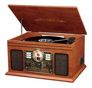 Victrola Classic Tornamesa Toca Discos Vinil Bluetooth Album