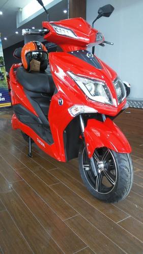 Sunra Hawk Moto Bateria Litio Electrica Scooter 2021 0 Km A