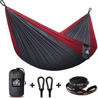Proventure Camping Hammock &free Tree Straps Lightweight A