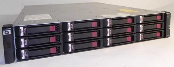 Msa2000 G3 / Fc 8gb + 12 Hd 4tb Sata Hp Enterprise - 48tb