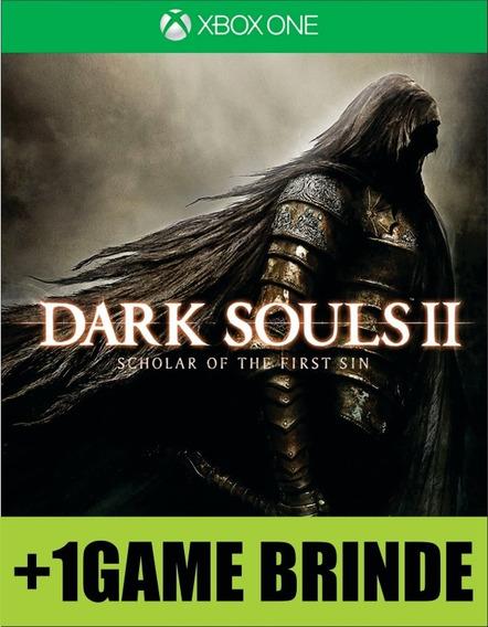 Dark Souls 2 Scholar Of The First Sin Xbox One Mídia