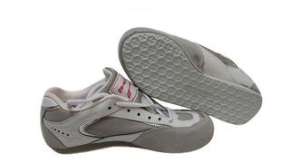 Zapato Esgrima Fire Sports Tenis Zapatilla Blanco