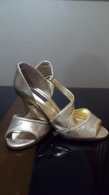 Sandália Dourada Jorge Bischoff