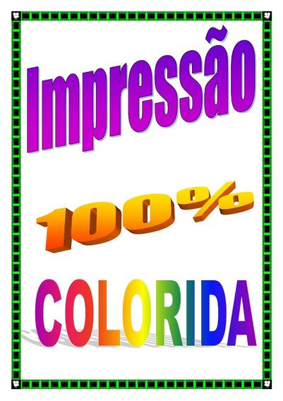 Impressão De Apostila 100% Colorida #melhor Custo Benefício