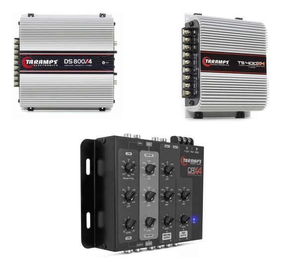 Kit Crx-4 Taramps 4 Vias + Ts400x4 + Ds800 X4 Modulo