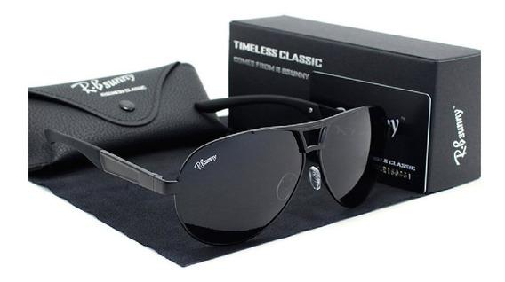 Óculos Polarizado De Sol Clássico Uv400 Masculino