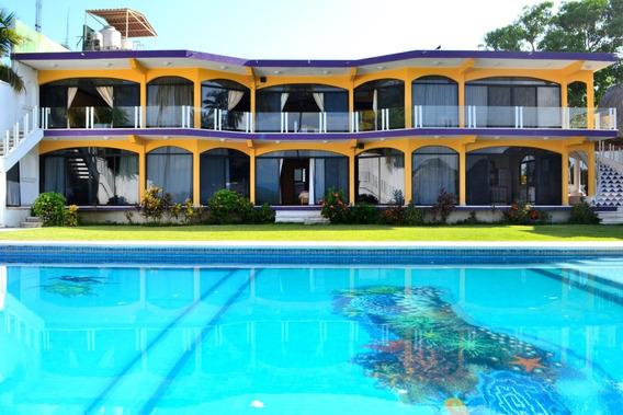 Casa Para 25 Personas En Pie De La Cuesta, Acapulco
