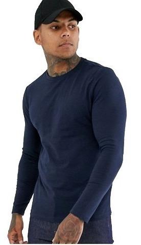Kit 3 Camisetas Masculina Manga Longa - Tecido Ultrafit®
