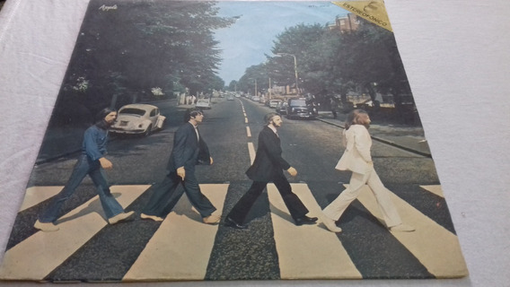 Tapa The Beatles Abbey Road Sbtl-1008